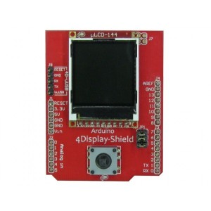 "4Display-Shield-144 1.44"" LCD Display Shield for Arduino"