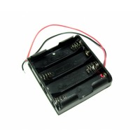 4xAA Battery Holder (square)