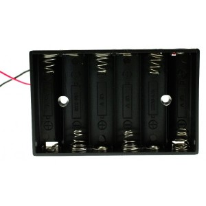6xAA Battery Holder