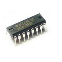 74HC165 - 8-Bit Parallel-In/Serial-Out Shift Registers