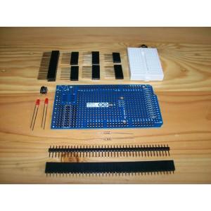 Arduino MEGA Protoshield Kit w/ Breadboard