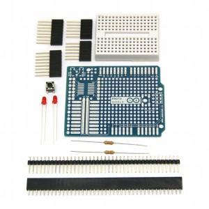 Arduino Protoshield Kit w/ Breadboard