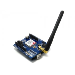 IComSat v1.0 - SIM900 GSM/GPRS Shield for Arduino