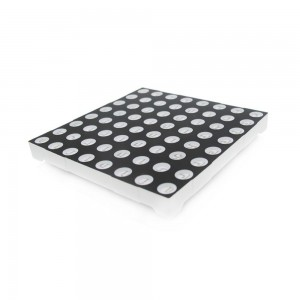 60mm Square 8x8 LED Matrix - Red