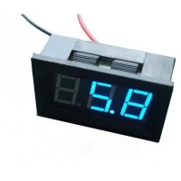 LED Voltage Meter (Blue)