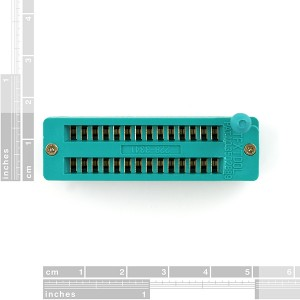 ZIF Socket 28-Pin 0.3""