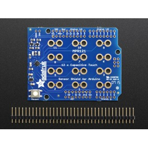 Adafruit 12 x Capacitive Touch Shield for Arduino - MPR121