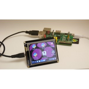 "2.8"" USB TFT Touch Display Module for Raspberry Pi"