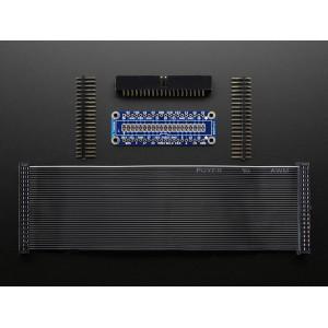 Adafruit Pi Cobbler Plus Kit- Breakout Cable for Raspberry Pi B+
