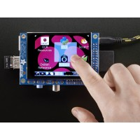 "PiTFT Mini Kit - 320x240 2.8"" TFT+ Capacitive Touchscreen"