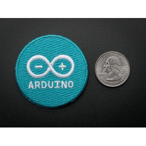 Arduino - Skill badge, iron-on patch