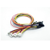 Grove - 4 pin Female Jumper to Grove 4 pin Conversion Cable (5 pcs Pack)