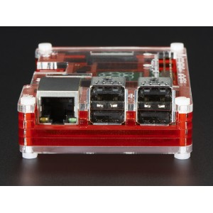 Pibow Coupé - Enclosure for RaspberryPi 2 and Model B+ Computer