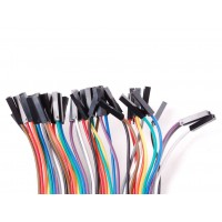 Female/Female Jumper Wires - 40 x 200mm