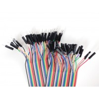 Female/Male Jumper Wires - 40 x 200mm