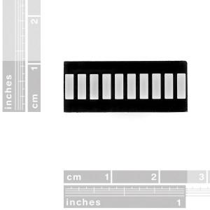 10 Segment LED Bar Graph - Yellow