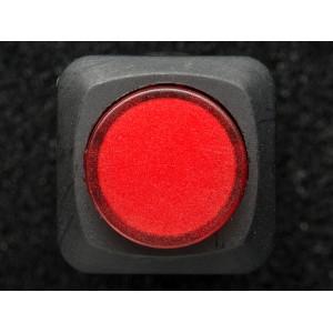 16mm Illuminated Pushbutton - Red Momentary