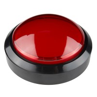Big Dome Push Button - Red (Economy)