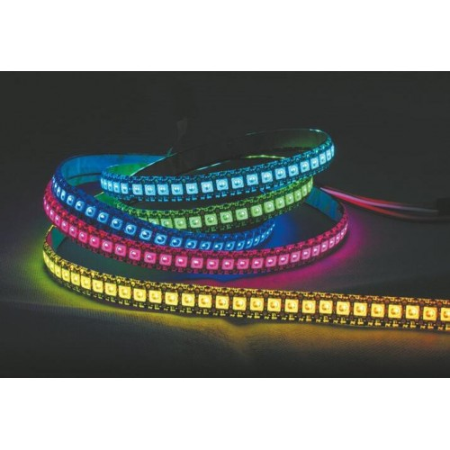 check out e1cf8 923de Digital RGB LED Flexi-Strip 144 LED - 1 Meter | Famosa Studio