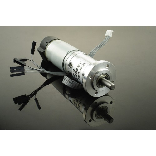 12v low noise dc motor 146rpm w encoder famosa studio