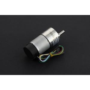 Metal DC Geared Motor w/Encoder - 12V 83RPM 45Kg.cm