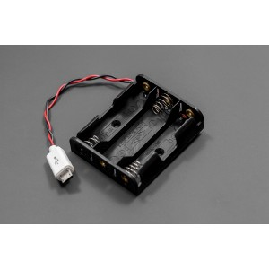 Micro USB Battery Holder (3xAA)