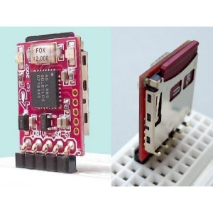 uDRIVE-uSD-G1 - Tiny Embedded DOS micro-DRIVE Module