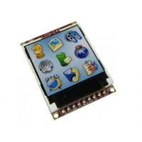"µLCD-144(SGC) - 1.44"" Serial LCD-TFT Display Module"