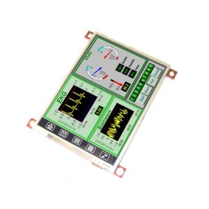 """uLCD-32PT(SGC) - 3.2"""" Serial LCD-TFT Display Module (with Touch)"""