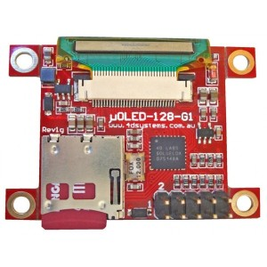 "µOLED-128-G1(SGC) - 1.5"" Serial OLED Display Module"